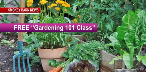 "FREE ""Gardening 101 Class"" April 21 - Register Today!"