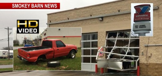 Accident Close Call At Oil Change Shop In Springfield