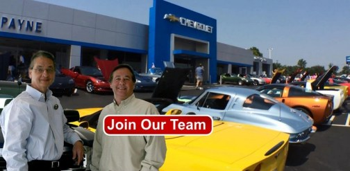 Payne Chevrolet Is Hiring (Start A New Career Today)
