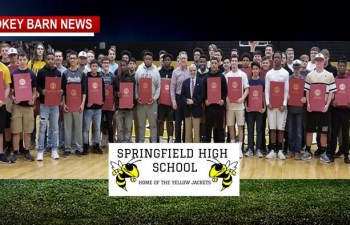 Springfield High Football Receives State Proclamation