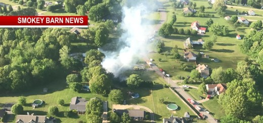 Massive Fire Destroys Springfield Home Friday