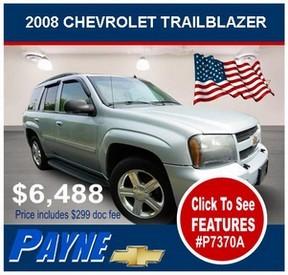 Payne 2008 Chev Trailblazer P7370A 288