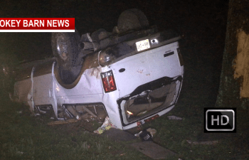 Rollover Crash Very Close Call For Springfield Man