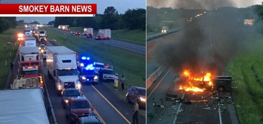 Traffic Advisory (Rollover-Crash) I-65 North Closed At The 117