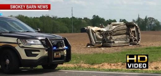 Two Injured In Cedar Hill Rollover Crash Wednesday