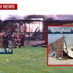 Two Structures Lost In Fires Sunday