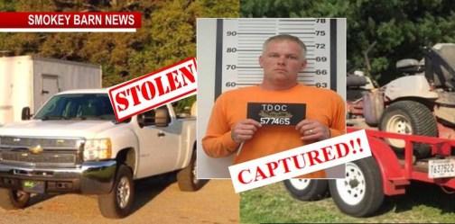 Car-Jacked Truck/Trailer Suspect Apprehended