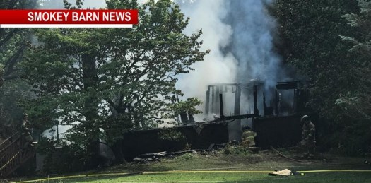 Firefighters Battle Portland House Fire In Soaring Temperatures
