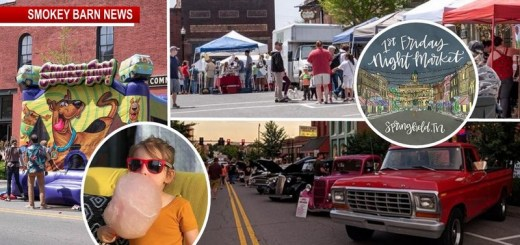 Get Ready! Tomorrow Night (Friday) - FREE Family Fun On The Springfield Square