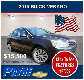 Payne 2015 Buick Verano P7365 288