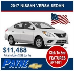 Payne 2017 Nissan Sedan P7401 288