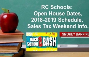 "RC Schools: Open House Dates, 2018-2019 Schedule, Sales Tax Weekend & ""Back To School Bash's"""