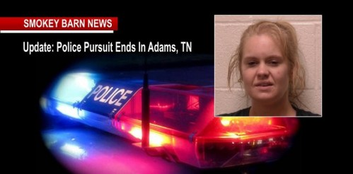 KY Police Pursuit Ends In Adams, One Suspect In Custody