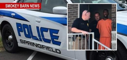 Springfield Man Robbed At Gunpoint, Suspect Captured