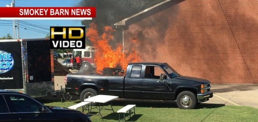 Food Truck Ignites, Operator (RC Deputy SRO) Burned In White House