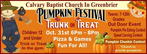 Trunk Or Treat Fall Fun Events 2018 In Around Robertson