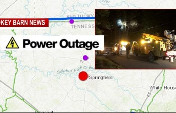 Over 900 Without Power In Springfield Saturday Night