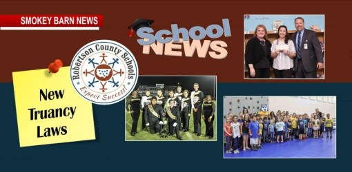 In School News: New Truancy Laws, Grants, Student Achievements & Awards