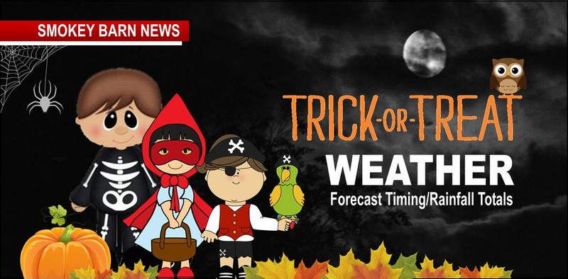 Trick Or Treat Forecast Timing Of Rain Flood Watches Indoor