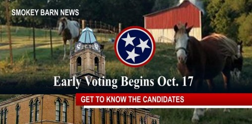 Early Voting Begins Oct. 17th - Get To Know The Candidates