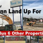 Royal Inn LAND To Be Auctioned --& Other Properties...