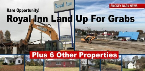 Royal Inn Auction & 6 Other Properties Auctioned This Month