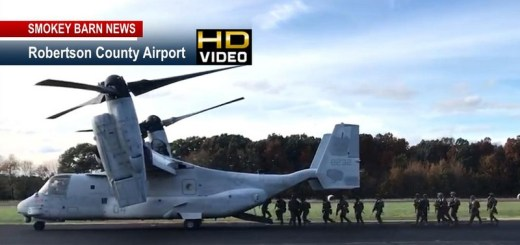 Marines Land In Springfield In Day Of Training