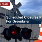 Greenbrier: Multiple Railroad Crossings Scheduled