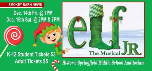 "See ""Elf The Musical"" This Friday Or Saturday (SPRINGFIELD)"