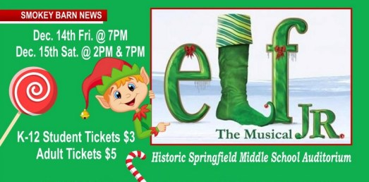 "See ""Elf The Musical"" This Friday Or Saturday"