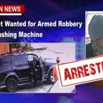 Armed Robbery Suspect Found In Washing Machine