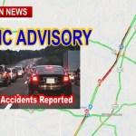 TRAFFIC ADVISORY: Robertson County Holiday Traffic Report