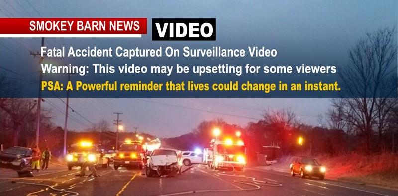 Surveillance Video Captures Fatal Robertson Accident…