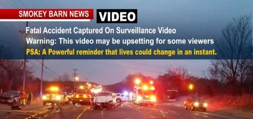 Surveillance Video Captures Fatal Robertson Accident...