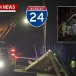 Fatal 1-24 Crash Takes One Life Monday Evening