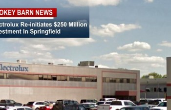Electrolux Re-Initiates $250 Million Investment In Springfield; Consolidates all US Cooking Production