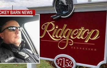 Ridgetop Dissolves Police Force - Effective Immediately