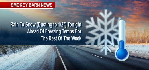 ALERT: Frigid Temps-Light Snow Tonight (Pets-Pipes-Plants)