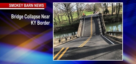 Bridge Collapse Closes Highland Rd Near KY Border