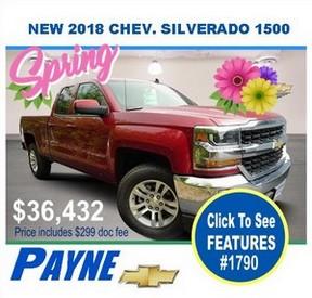 Payne 2018 Chev Silverado 1790 288px
