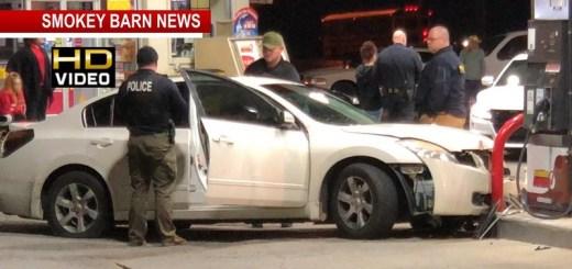 Fleeing Suspect Crashes Into Sudden Service In Springfield