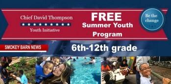 Youth Initiative (Chief David Thompson) Summer Program (6th-12th grade)
