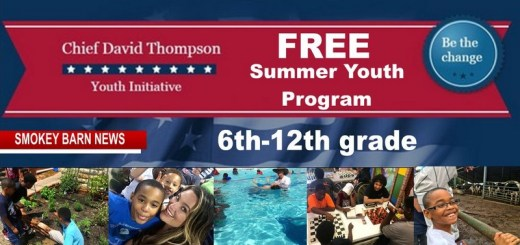 Youth Initiative (Chief David Thompson) Summer Program (6th-12th grade)