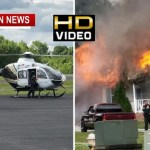 Two LifeFlighted In 2 Separate Robertson Fires Monday