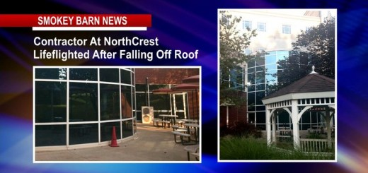 Contractor At NorthCrest Lifeflighted After Falling Off Roof