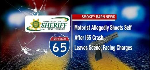 Motorist Allegedly Shoots Self After I65 Crash, Leaves Scene, Facing Charges