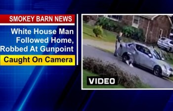 White House Man Followed Home, Robbed At Gunpoint (VIDEO)