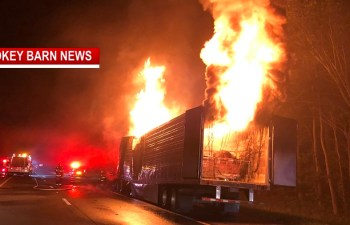 Semi Hauling Chocolate Ignites On I-24 East (Expect Delays)
