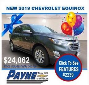 Payne 2019 Chev Equinox 2239 288
