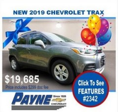 Payne 2019 Chev Trax 2342 288